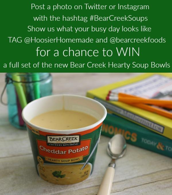 Bear Creek Soups-giveaway