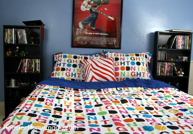 Bedroom Update on a Budget | Details on HoosierHomemade.com