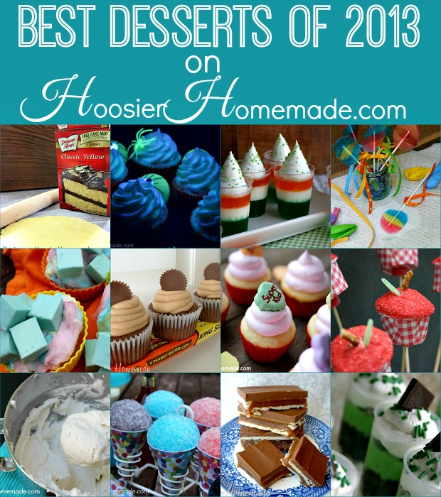 Best Desserts of 2013 from HoosierHomemade.com