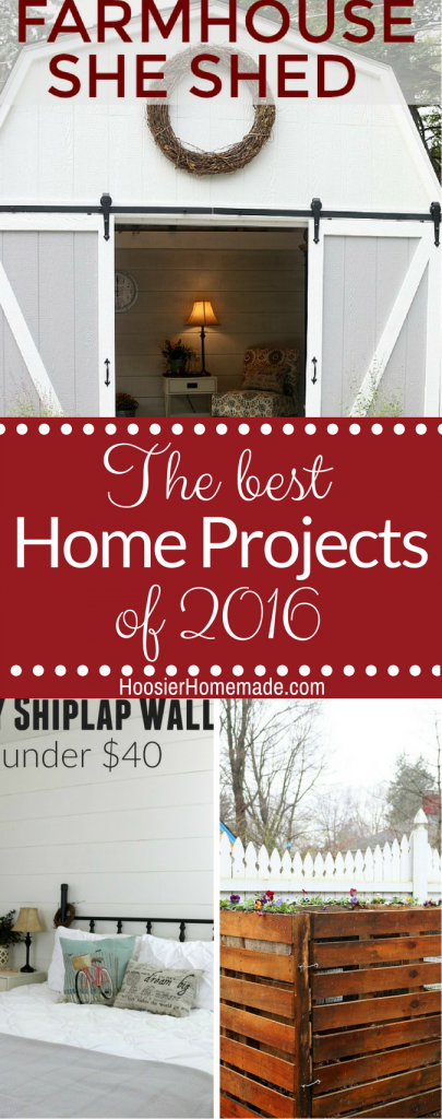 The Best Home Projects of 2016!