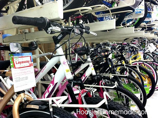 Bicycle at Walmart