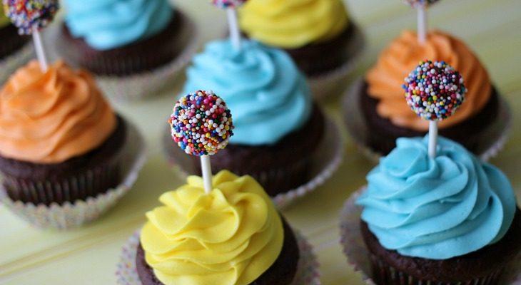 Kid's Birthday Cupcakes