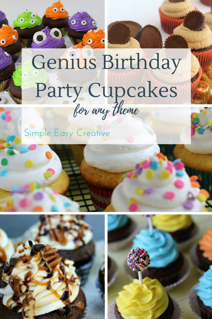 Birthday Party Cupcakes- go to party cupcakes for any theme!