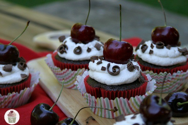 Black Forest Cupcakes - Hoosier Homemade