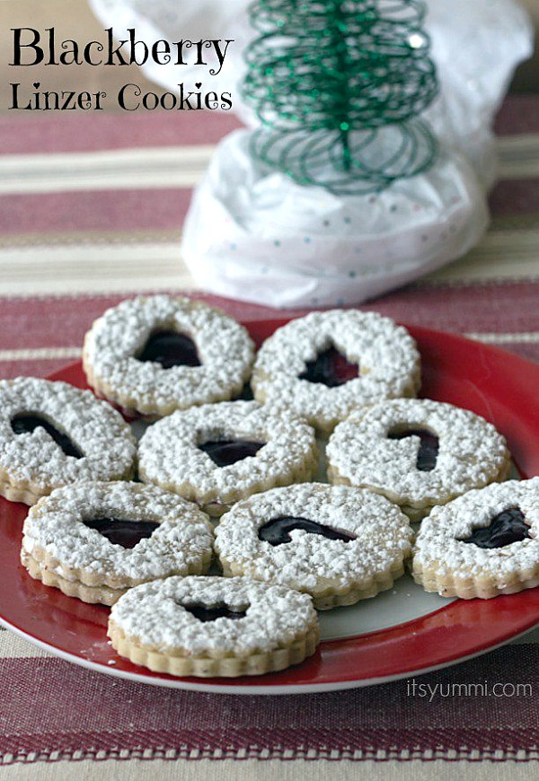These delicious Christmas Cookies will quickly become a family favorite! The Blackberry Linzer Cookies are perfect for your cookie exchange too! Visit our 100 Days of Homemade Holiday Inspiration for more recipes, decorating ideas, crafts, homemade gift ideas and much more!