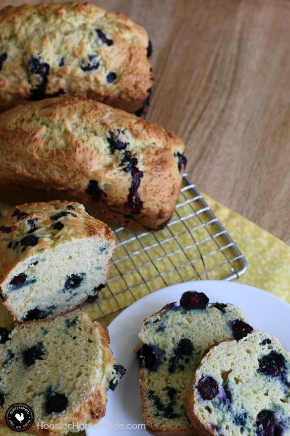 Blueberry Orange Bread Hoosier Homemade