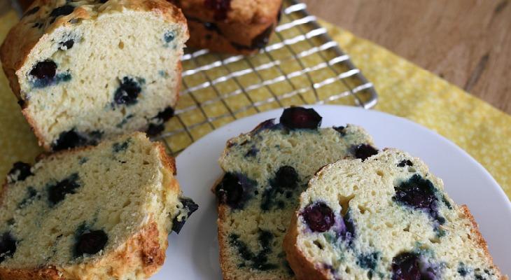 Blueberry Orange Bread - Hoosier Homemade