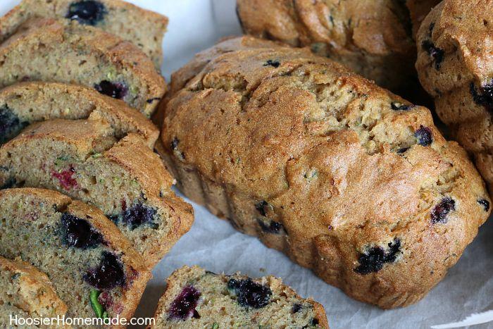 Blueberry Zucchini Bread Recipe
