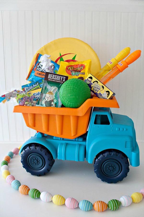 Easter Basket Ideas for Toddler Boy