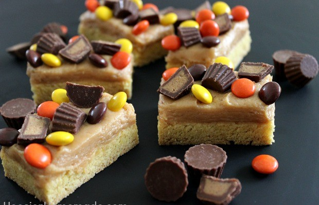 Bracket Buster Bars Recipe :: HoosierHomemade.com
