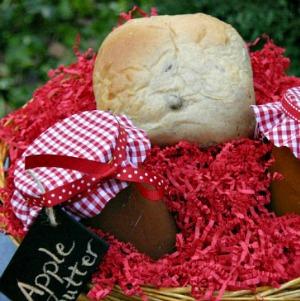 Bread Basket Gift :: HoosierHomemade.com