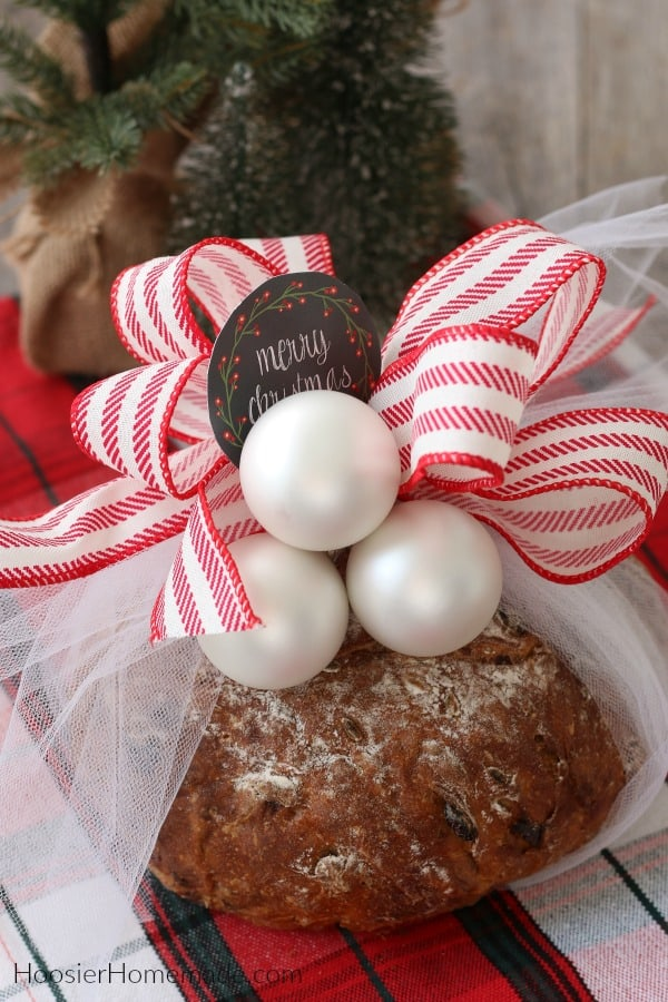 Bread Gift with Bow