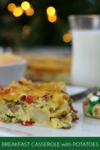 Breakfast Casserole with Potatoes