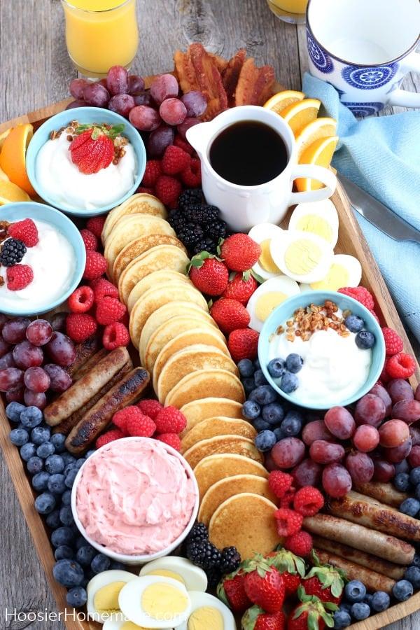 Breakfast Brunch Charcuterie Board