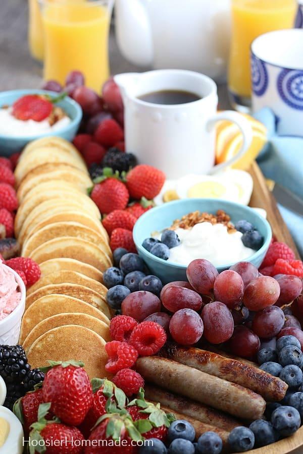 Charcuterie Board for Breakfast