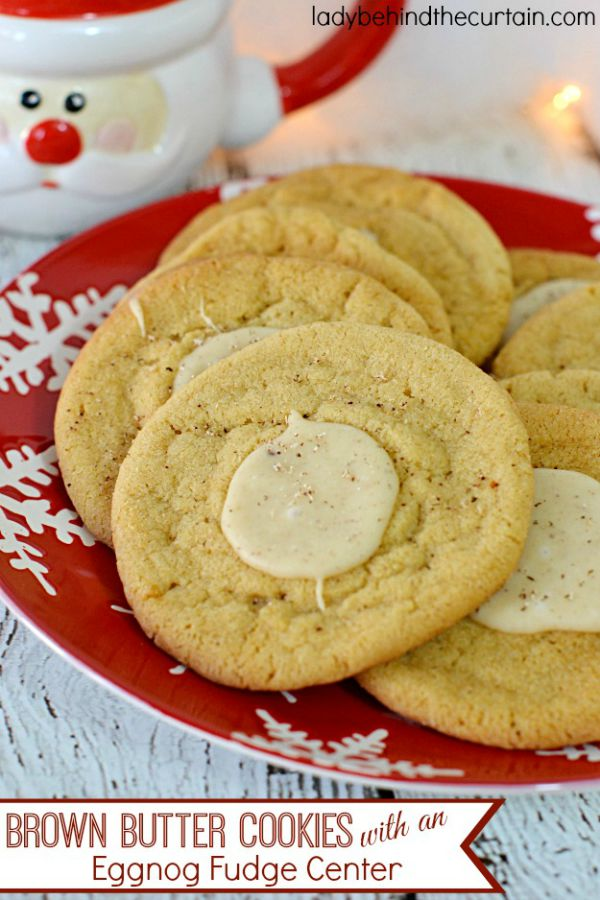 These soft, chewy cookies give you the best of both worlds! Cookies + Eggnog! Visit our 100 Days of Homemade Holiday Inspiration for more recipes, decorating ideas, crafts, homemade gift ideas and much more!