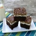 Brownie Goody Bars :: Recipe on HoosierHomemade.com