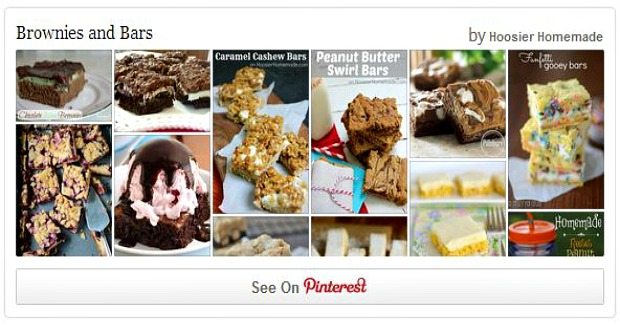 Brownies and Bars Pinterest Board