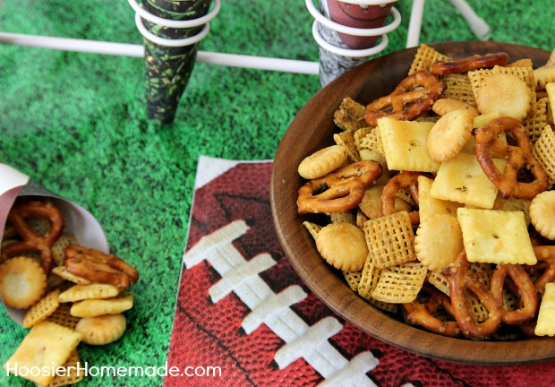 Buffalo Ranch Snack Mix | Recipe on HoosierHomemade.com