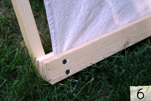 How to build a backyard tent hoosier homemade for How to make a canvas tent