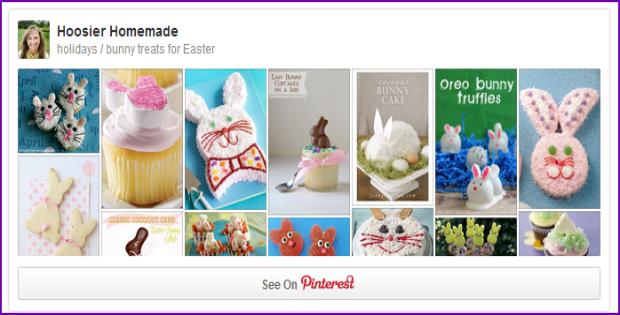 Bunny Treats Pinterest Board