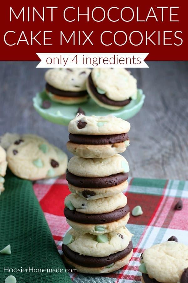 Cake Mix as Cookies