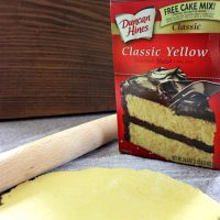 How to Make Pie Crust from Cake Mix