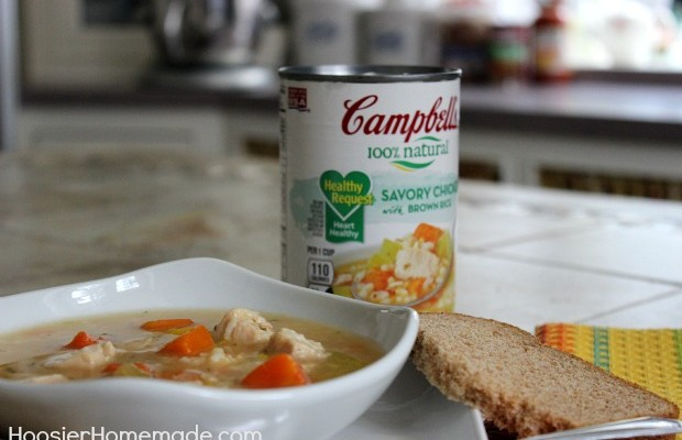 Campbell's Heart Healthy Lunch