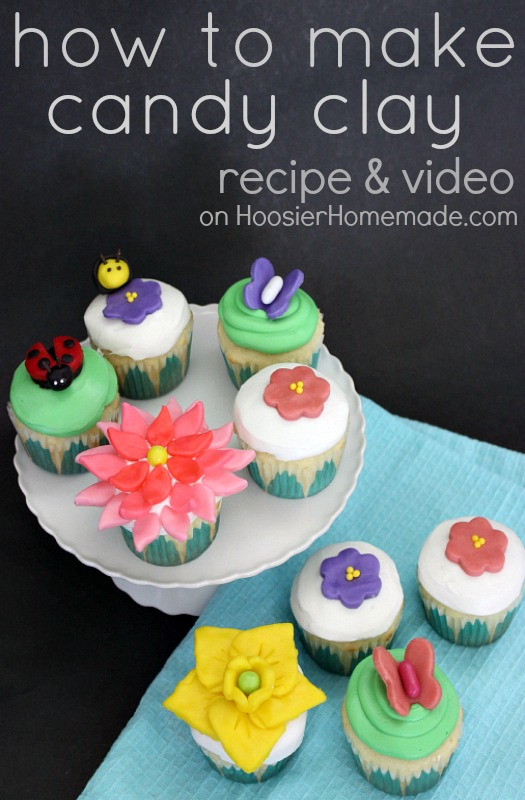 How to Make Candy Clay: Recipe & Video on HoosierHomemade.com