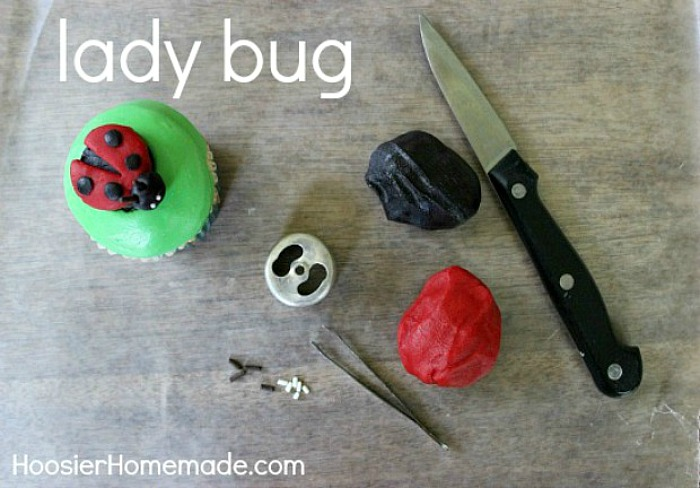 How to make a Lady Bug using Candy Clay