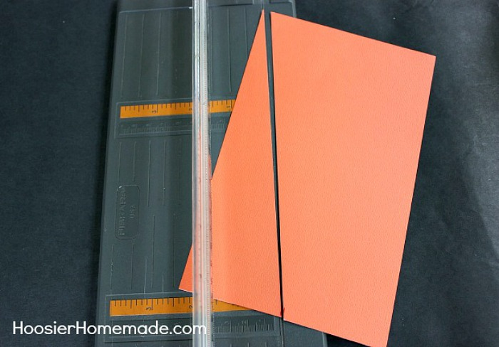 How to make a Candy Corn Banner