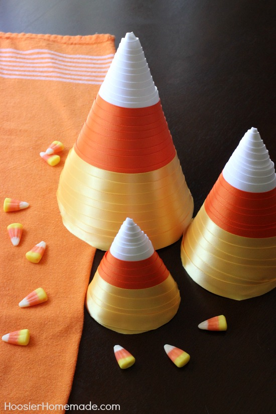 Candy corn paper craft and dollar tree giveaway hoosier for Craft paper dollar tree