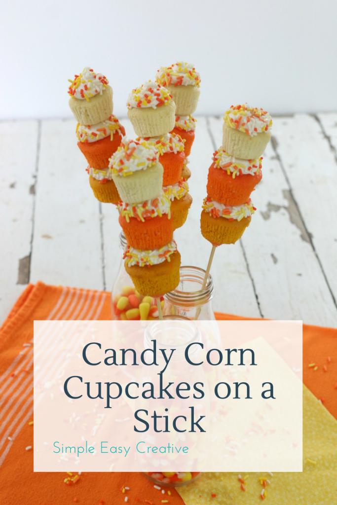 Candy Corn Cupcakes Cake Mix