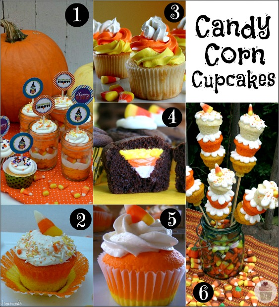 31 Candy Corn Cupcakes, Treats and Crafts