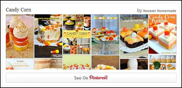 Candy Corn Pinterest Board
