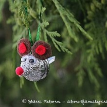 Candy-Kiss-Mouse-Ornament - Day 19