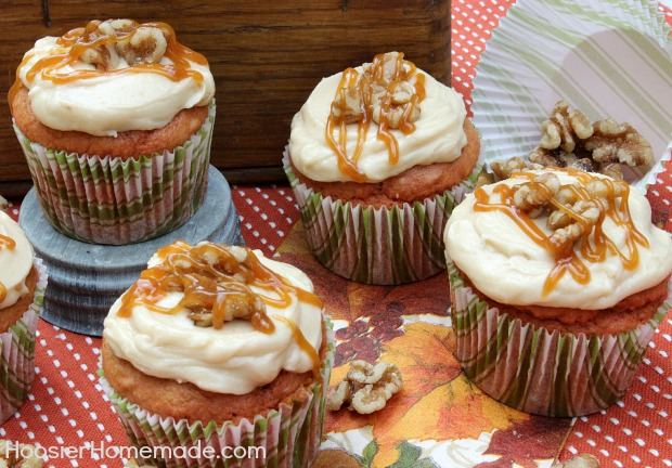 Harvest Apple Cake With Caramel Icing Recipe