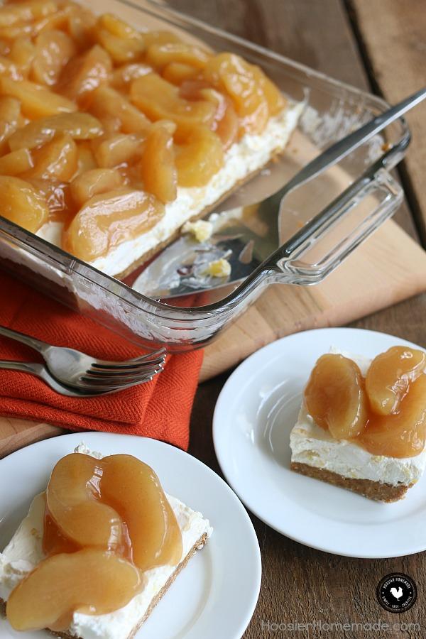 Caramel Apple Cream Cheese Dessert