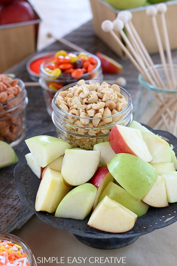 Caramel Apple fondue