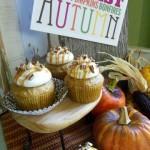 Caramel Apple Nut Cupcakes - September 2012