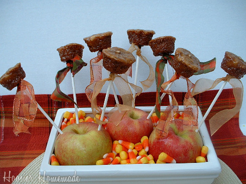 Caramel Apple Pops