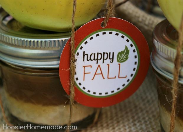 Caramel Apple Cream Cheese Dip :: Recipe and Tags on HoosierHomemade.com