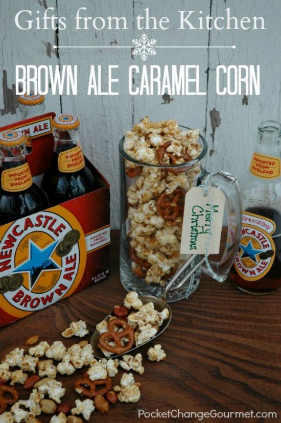 Brown Ale Caramel Corn | HoosierHomemade.com