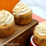 Caramel Pumpkin Cupcakes - September 2013