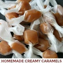 Homemade Creamy Caramels