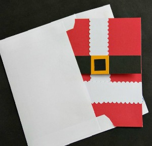 Handmade Christmas Card :: HoosierHomemade.com