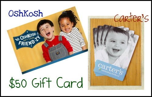 carters sweepstakes 50 gift card giveaway to carter s oshkosh b gosh 6449