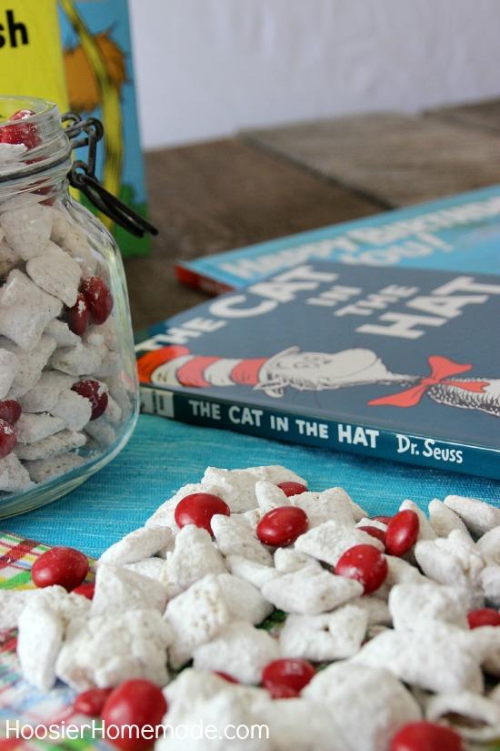 Cat in the Hat Muddy Buddies: Dr. Seuss's Birthday