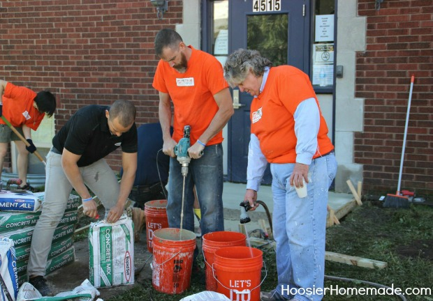 Celebration of Service in Indiana