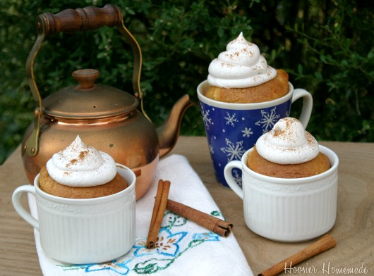 Chai Tea Latte Cupcakes and Giveaway - Hoosier Homemade